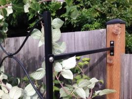 Raspberry Trellis brackets- 9'W x 5'H