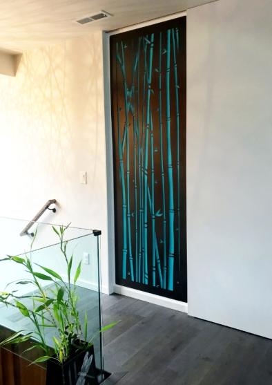Bamboo Forest - laser cut design detail