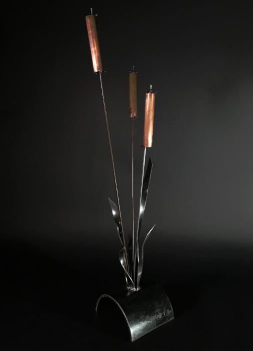 """CopperTails- 3'Hx10""""W."""
